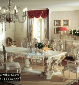 Set Furniture Ruang Makan Minerva Jepara