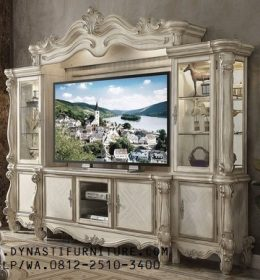 Produk Buffet Tv Ornamental White