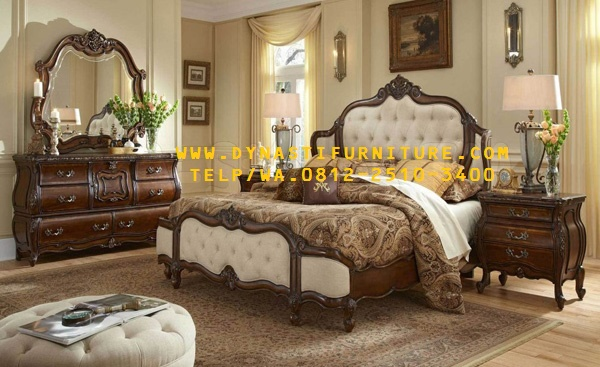 Kamar Set Mewah Dynasti Furniture SKT-001