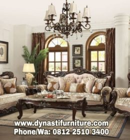 Set Kursi Sofa Tamu Luxury DF KMT 0043