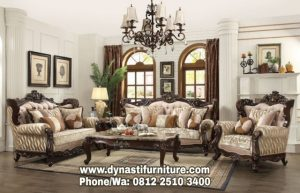 Set Kursi Sofa Tamu Luxury DF ST 0043