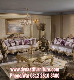 Set Kursi Tamu Klasik Luxury Mansion DF ST 0041
